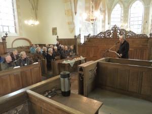 Peter Breukink, directeur van de Stichting Oude Groninger Kerken aan het woord.